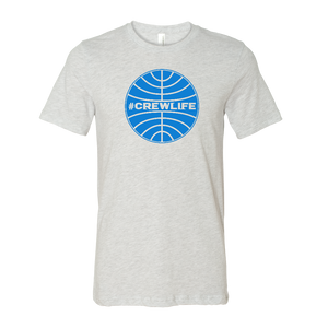 #CREWLIFE Globe Tee - UNISEX (2 Color Options)