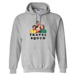 """Travel Squad"" Golden Hoodie - UNISEX - 2 COLORS"