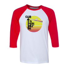 "Retro ""Mile High Club"" Raglan Tee - Unisex (6 Color Options)"