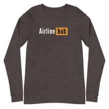 "Passenger Shaming ""Airline Hub"" Long Sleeve Tee - UNISEX - 2 COLORS"