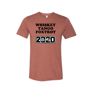 "Passenger Shaming ""WTF CLASS OF 2020"" Tee - UNISEX - 4 COLORS"