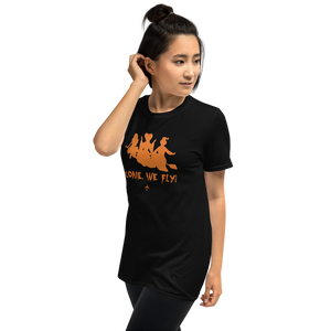 """Come, We Fly!"" Hocus Pocus Tee - UNISEX - BLACK"