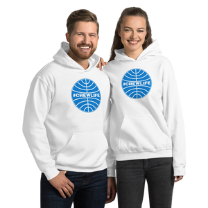 Passenger Shaming #CREWLIFE Globe Hoodie - UNISEX - 3 COLORS
