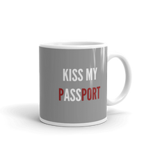 "Passenger Shaming ""Kiss My Passport"" Mug - 11oz"