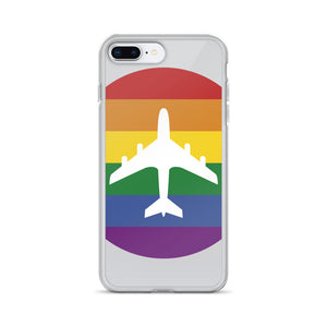Plane Pride iPhone Case - Clear