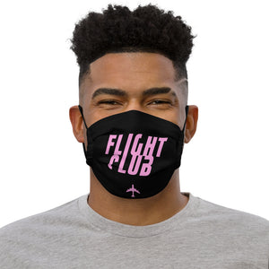 "Passenger Shaming ""Flight Club"" Face Mask (with nose wire)"
