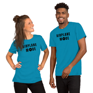 "Passenger Shaming ""Airplane Mode"" Unisex Tee - 8 COLORS"