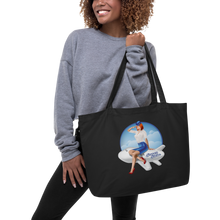 "Large ""Sassy Stew"" Organic Tote Bag"