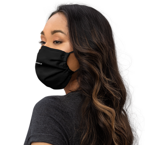 """BACK THE F#@K UP"" Face Mask (with nose wire)"