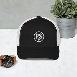 Passenger Shaming Embroidered Logo Trucker Hat