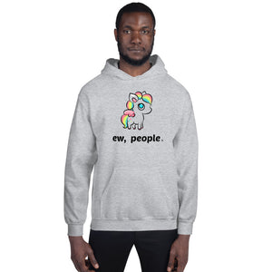 "Passenger Shaming ""Ew People"" Unicorn Hoodie - UNISEX - 6 COLORS"