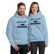 Official Passenger Shaming Photographer Hoodie - UNISEX - 8 COLORS