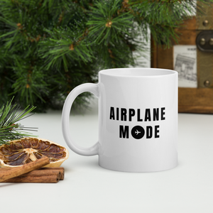 "Passenger Shaming ""Airplane Mode"" Mug - 11oz"