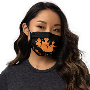 """Come, We Fly!"" Hocus Pocus Face Mask"