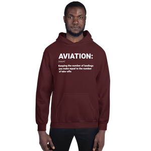 """AVIATION"" Defined Hoodie - UNISEX - 4 COLORS"