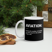 """AVIATION"" Defined Mug - 11oz"
