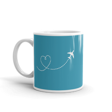 """Just Plane Love"" Mug - 11oz"