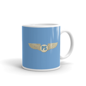 "Passenger Shaming ""PS Airline Wings"" Mug - 11oz"