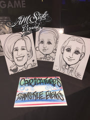 Caricatures Los Angeles Events