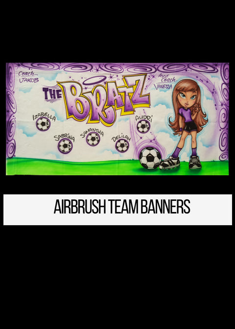 Airbrush Team Banner Los Angeles