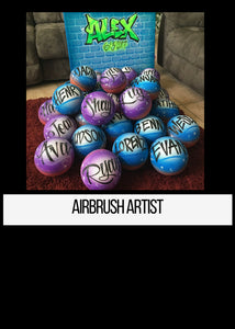 Airbrush Artist Tshirts Los angeles