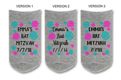 Custom Personalized Socks Party Favors