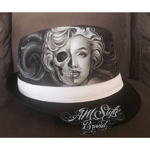 Day of The Dead Marilyn Monroe Fedora