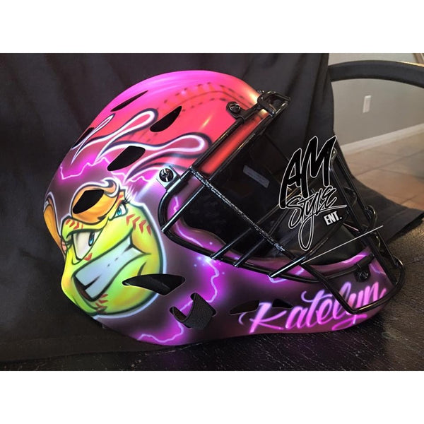 Custom Airbrush Catchers Helmets