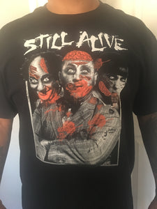 3 Stooges Halloween Day of The Dead Mens Style T-Shirt