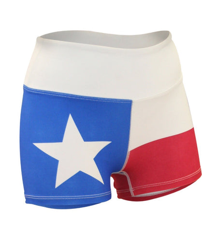 W Texas Flag Boy Short