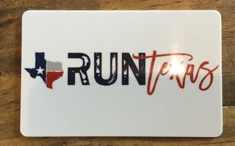 Run Texas Gift Cards