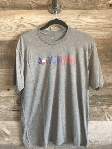 Run Texas Men's Tee - Grey
