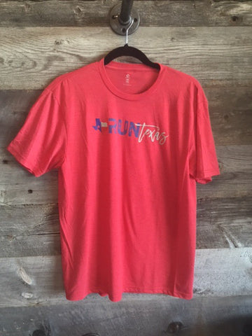 Run Texas Men's Tee - Red
