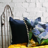 Designers Guild Bloomsbury Rose Indigo Cushion