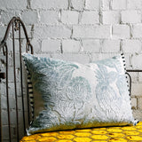 Designers Guild Zanfirico Duck Egg Cushion