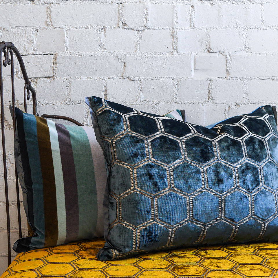 Designers Guild Manipur Delft Cushion