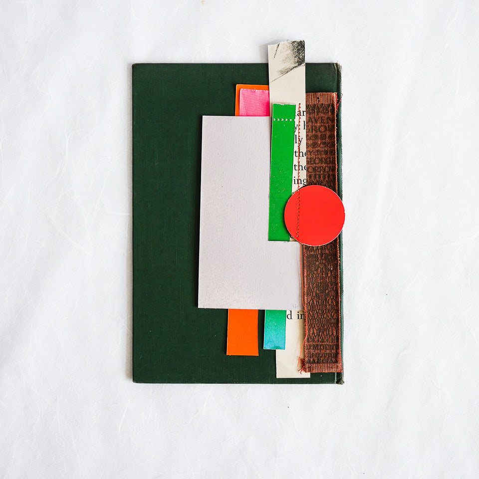 Sophie Klerk Original Collage | Orange Spot