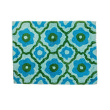 Bonnie and Neil Bath Mat | Marguerite Blue Green