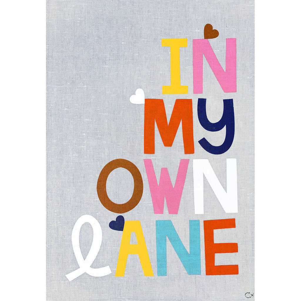 Castle Art Teatowel | In My Own Lane