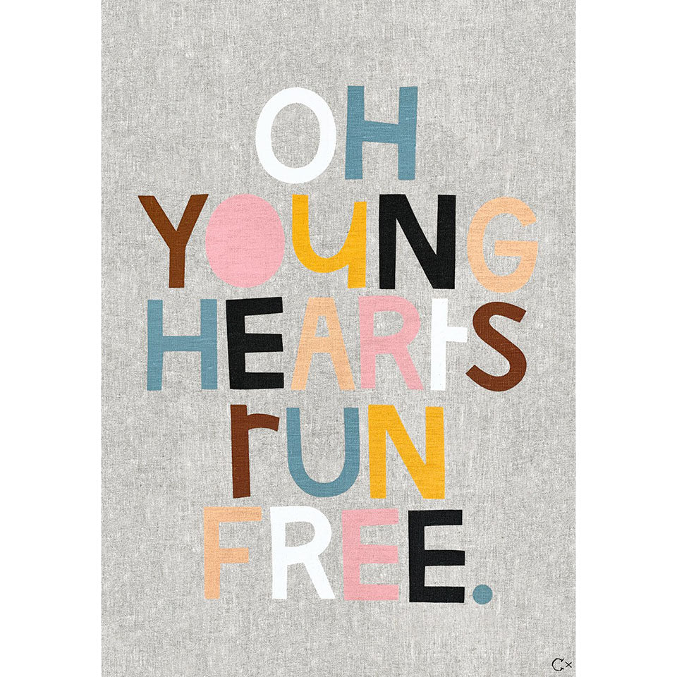 Castle Art Teatowel | Young Hearts