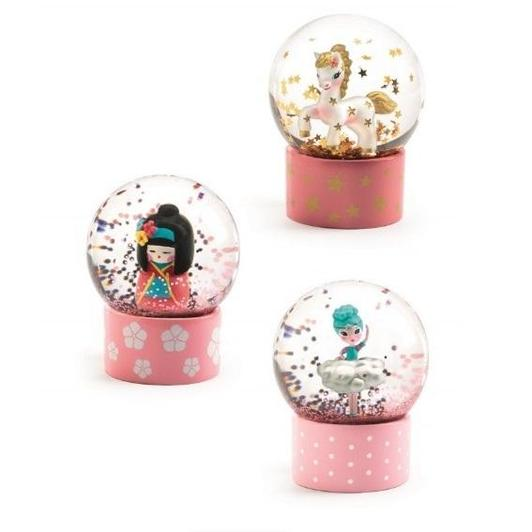 Djeco Mini Snow Globe | So Cute