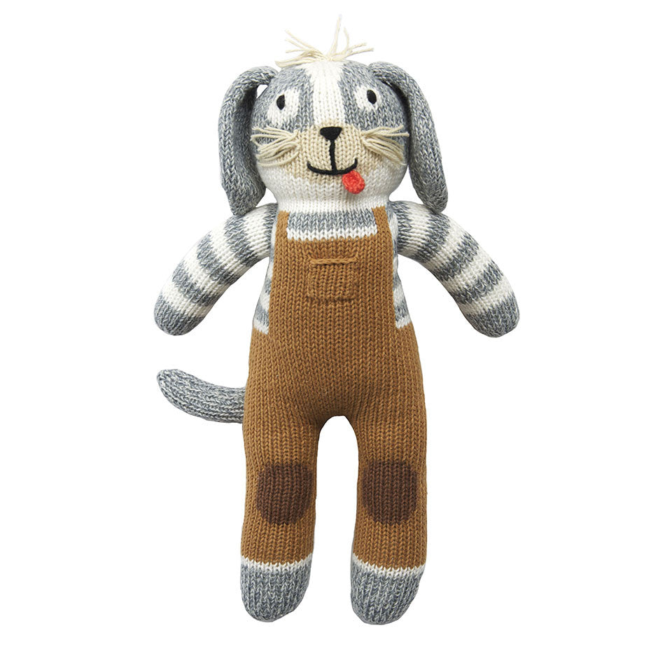 Blabla Toutou the Dog Knit Doll