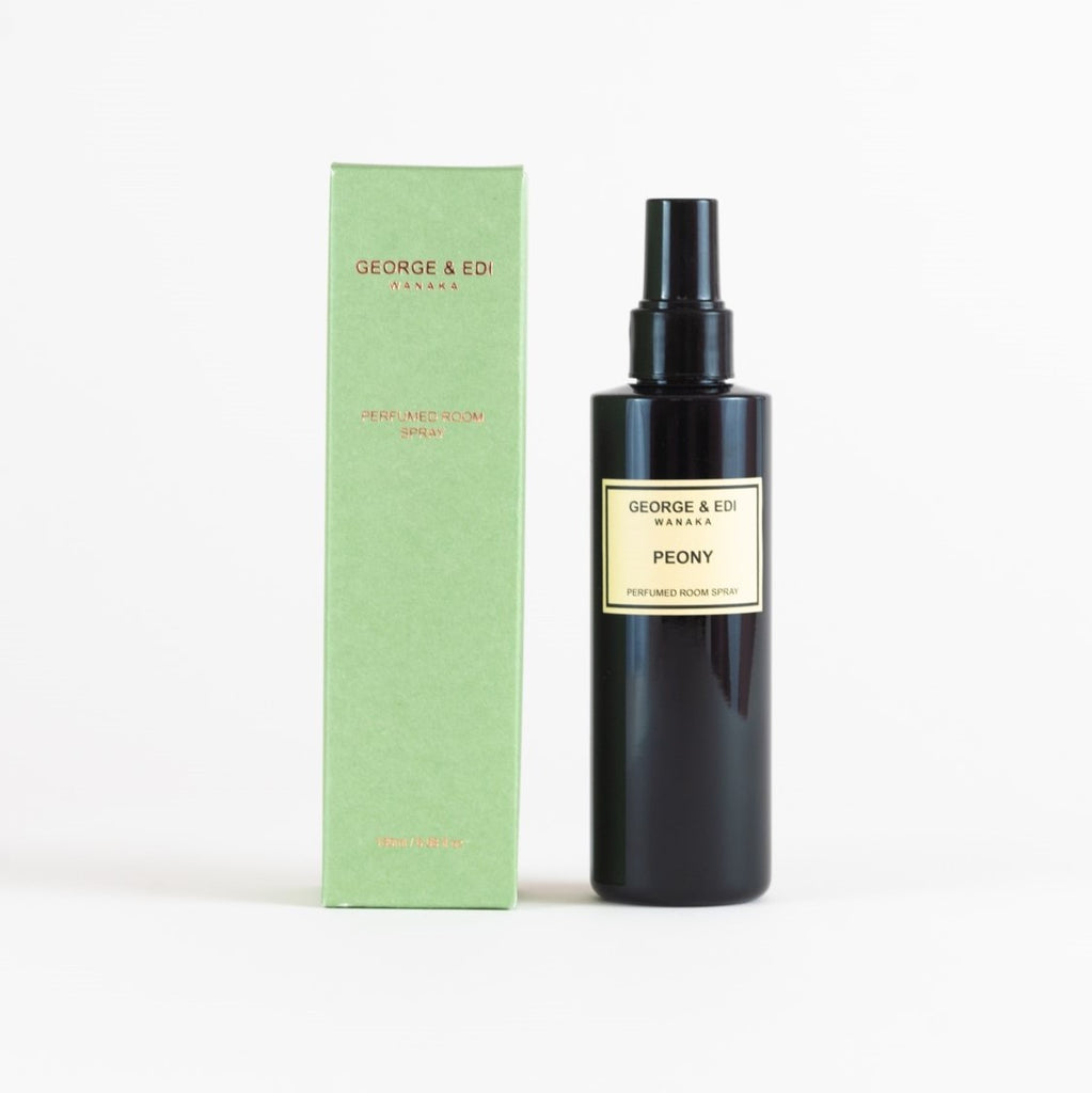 George & Edi Perfumed Room Spray | Peony