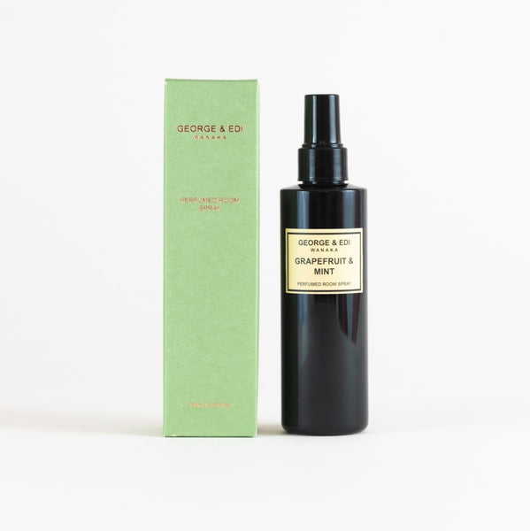 George & Edi Perfumed Room Spray | Grapefruit & Mint