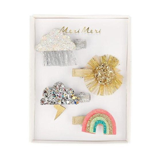 Meri Meri Hairclips | Sparkly Weather