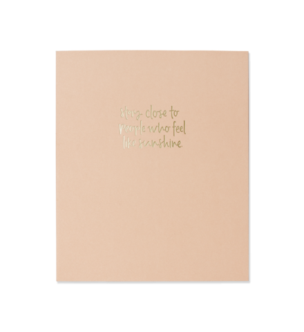 Emma Kate Co A5 Notebook | Like Sunshine