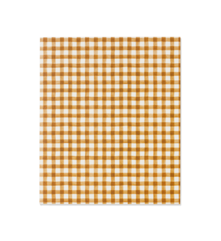 Emma Kate Co A5 Notebook | Spiced Gingham