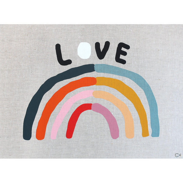 Castle Art Teatowel | Love