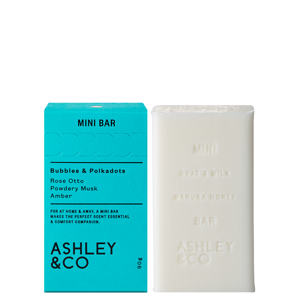 Ashley & Co Minibar | Bubbles & Polkadots
