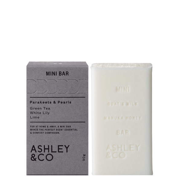 Ashley & Co Minibar | Parakeets & Pearls